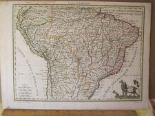 Vintage Print,PEROU ET BRESIL,Lapie,1812