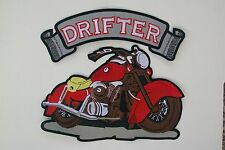 Drifter Motorcycle 2 piece back patch. Kawasaki. Nice New