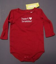 NWT GYMBOREE VALENTINES DAY HEART BREAKER BODYSUIT 3-6