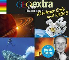 CD * GEOLINO EXTRA HÖR-BIBLIOTHEK - Abenteuer Erde und Weltall  # NEU OVP &