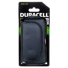 Duracell Leather Carrying  UNIVERSAL PHONE CASE  MODEL F2527 FOR MOST SMARTPHON