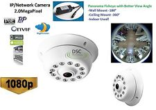CCTV Indoor 1080P IP Camera 180/360 Degree Viewing, Onvif Support, XMEYE, PoE