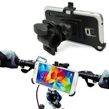 Cycling Bicycle Bike Phone Holder Handlebar Stand Mount Samsung Galaxy S5 i9600