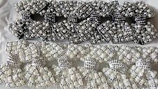 Joblot 12pcs Mixed Bow Design Sparkly hairclips hairgrips NEW wholesale lot 21