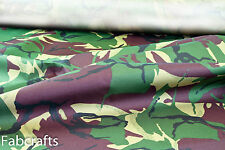 Marine Canvas Hardwearing Breathable Waterproof STRONG Army Camo material 10G