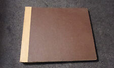 "Storage Book With 10 Sleeves for 10"" Vinyl Record Album - Brown & Yellow"