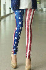 Wholesale Lot 25 Summer American Flag Leggings Flea Market Store Online Resale