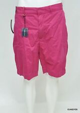 Nwt Polo Ralph Lauren Golf Cotton Flat Front Chino Shorts Pants Pink 38