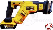 New DeWALT DCS387 20V 20 Volt Compact Reciprocating Saw DCB205 5.0 Ah Battery