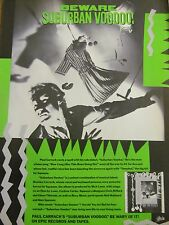 Paul Carrack, Suburban Voodoo, Full Page Vintage Promotional Ad