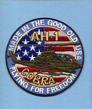 BELL AH-1 COBRA US ARMY AVIATION USMC MARINE CORPS Helicopter Squadron Patch