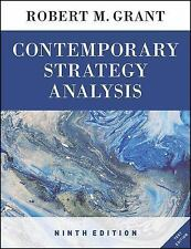 Contemporary Strategy Analysis Text Only by Grant, Robert M.