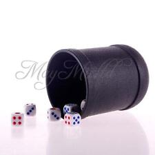 KTV Special Bar Game Pub Decider Shaker Craps Yahtzee Dice Straight Cup 6 Dice O