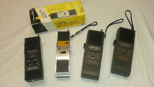 Lot of 4 REALISTIC Vintage CB Radio Transceiver Walkie-Talkie Sets Radio Shack