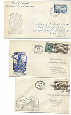 Canada FFC Lot of 3 - 1931 & 1942 - Quebec, Three Rivers, Vancouver, Lethbridge*