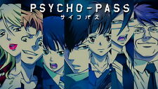"001 Psycho-Pass - Japanese Anime TV Series 25""x14"" Poster"