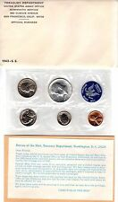 1965 1C-50C Special Mint Set SMS Us Mint Silver 40% Kennedy Half Dollar 5 Coins