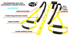 Oryginal MaxGym® Suspension Trainer. Bodyweight  Training. Fitness MMA Crossfit