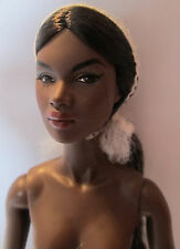 FASHION ROYALTY NADJA POLARITY NUDE WITH STAND EXTRA HANDS & COA # 361 OF 600