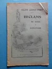Reclams Béarn Gascogne N° 7-8-9 1945 Palay Daugé Jouveau Saint-Bézard Mistral
