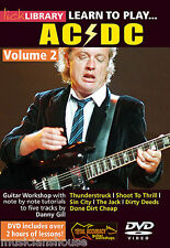 LICK LIBRARY Learn to Play AC/DC Angus Young Tutor ROCK SIN CITY Guitar DVD 2