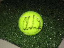 CAROLINE WOZNIACKI HAND SIGNED TENNIS BALL UNFRAMED + PHOTO PROOF + C.O.A