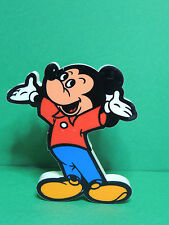 Mickey PLAYCRAFT Figurine Pouet Rubber Squeaky Squeeze Disney Vintage toy 1979