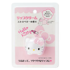 Hello Kitty character lip cream Scent of strawberry SANRIO from Japan