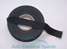 CLASSIC / KIT CAR roll of wiring loom textile / fabric tape 19mm x 25mtr