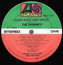 """The TRAMMPS ~ Hard Rock and Disco 1980 12"""" PROMO SINGLE *MINT*"""