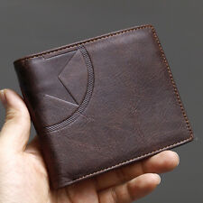Leather Wallets For Mens Credit Cards Wallet Zipper Pocket Purse-MJ2752
