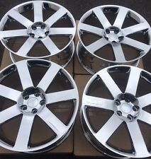 "SET OF FOUR 4 20"" 9"" WHEELS RIMS for CHRYSLER 300 300C 300S SRT-8 PVD CHROME NEW"
