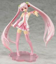 Anime Vocaloid Sakura Hatsune Miku PVC Action Figure Figurine Toys With Box Xmas