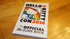 Hello Kitty 40th Anniversary Official Guide Book 2014 Convention Con Exclusive