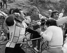Bernard Hinault Tour de France Cycliste Poinçon de Légende 10x8 Photo