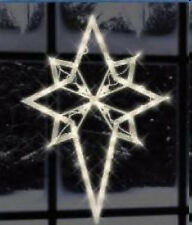 Christmas Holiday Yard Lawn Indoor Outdoor Nativity Star 17 Inches 43 Lights!