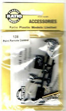 Ratio 138 - Remote Points Control Plastic/Metal Kit '00' or 'N' Gauge - 1st Post