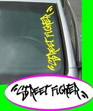 Street fighter Groß Domo JDM Sticker aufkleber oem Power fun like Shocker