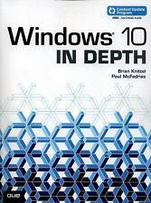 In Depth: Windows 10 in Depth by Paul McFedries and Brian Knittel (2015,...