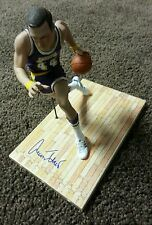 JERRY WEST SIGNED AUTOGRAPHED MCFARLANE ACTION FIGURE LAKERS NBA HOF THE LOGO