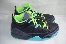 New Mens Nike Jordan Son of Mars 580603-019 Size 10 Black/Pink/ Blue/Purple  48I