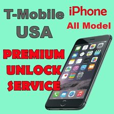 PREMIUM UNLOCK SERVICE T-MOBILE USA iPhone 4s 5 5c 5s 6 6+ 6s 6s+ All IMEI BAD