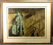 Rare Vintage Adolf Sehring Lithograph Pencil Signed & Numbered Ltd Ed 108/275