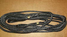 "NEW 3/8""x 25' Dyneema Winch Line, Synthetic Pulling Rope, 12-Strand Braid"