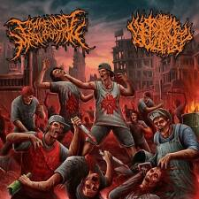 Fermented masturbazione/Pit of toxic SLIME-Split CD -