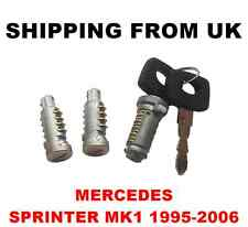 IGNITION SWITCH + 2 DOOR LOCK BARREL SET FRONT LEFT RIGHT REAR MERCEDES SPRINTER
