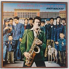 ANDY MACKAY: Resolving Contradictions 1978 BRONZE Import ROXY MUSIC Vinyl LP