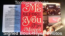 SIGNED Me Before You by Jojo Moyes Hardcover, autographed, new