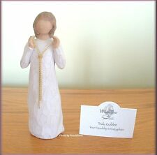 TRULY GOLDEN FIGURINE FRIENDSHIP FROM WILLOW TREE® ANGELS FREE U.S. SHIPPING