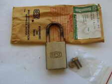 BEST PADLOCKS / VINTAGE LOCK / BEST  logo in both side / no cylinder / no key